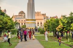 Parco di Bandula, Yangoon, Rangoon, Myanmar Immagine Stock Libera da Diritti