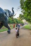Parco di Bandula, Yangoon, Rangoon, Myanmar Fotografia Stock