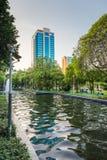 Parco di Bandula, Yangoon, Rangoon, Myanmar immagini stock libere da diritti