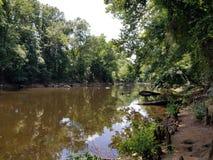 Parco di battaglia del fiume del catrame immagine stock