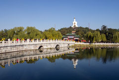 Parco di Beihai Immagini Stock Libere da Diritti
