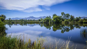 Parco di Boulder Colorado Immagine Stock Libera da Diritti