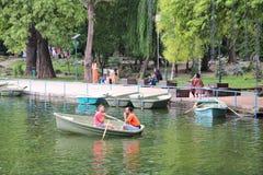 Parco di Bucarest Fotografie Stock Libere da Diritti