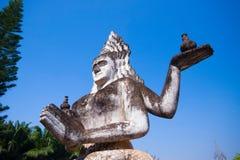 Parco di Buddha a Vientiane, Laos Punto di riferimento turistico o di viaggio famoso Fotografia Stock Libera da Diritti