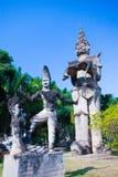 Parco di Buddha a Vientiane, Laos Punto di riferimento turistico o di viaggio famoso Fotografie Stock Libere da Diritti