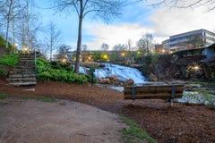 Parco di cadute su Reedy Greenville South Carolina Fotografia Stock Libera da Diritti