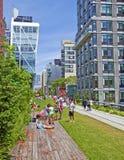 Parco di Chelsea High Line Fotografia Stock Libera da Diritti