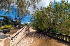 Parco di Ciutadella a Barcellona Immagine Stock Libera da Diritti