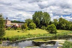 Parco di Clumber, Worksop, Nottinghamshire, Inghilterra fotografia stock libera da diritti
