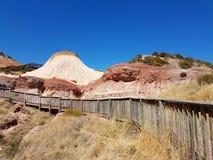 Parco di conservazione della baia di Hallett - sentiero costiero di Sugarloaf Fotografia Stock