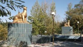 Parco di Dendro, Shymkent, il Kazakistan fotografia stock libera da diritti