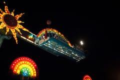 Parco di divertimenti Fotografie Stock Libere da Diritti