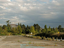 Parco di divertimenti abbandonato nell'Ohio Fotografia Stock Libera da Diritti