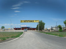 Parco di divertimenti dei Flintstones Fotografia Stock Libera da Diritti