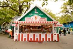 Parco di divertimenti di Bakken fotografia stock