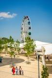 Parco di divertimenti di Kok Tobe, Almaty Fotografia Stock