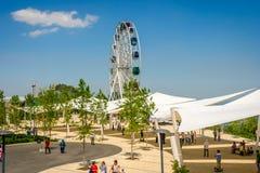Parco di divertimenti di Kok Tobe, Almaty Immagine Stock Libera da Diritti