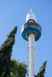 Parco di divertimenti di Linnanmaki, torre di osservazione di panorama Fotografia Stock Libera da Diritti