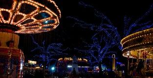 Parco di divertimenti di Londra Immagine Stock Libera da Diritti