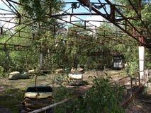Parco di divertimenti di Pripyat Fotografia Stock