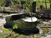 Parco di divertimenti di Pripyat Immagine Stock