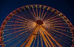 Parco di divertimenti Prater a Vienna Fotografia Stock Libera da Diritti