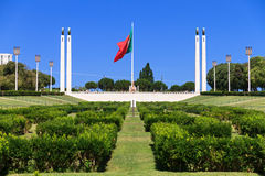 Parco di Eduardo VII Immagine Stock