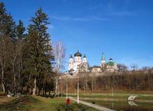 Parco di Feofaniya in Kyiv & in x28; Ukraine& x29; Fotografia Stock