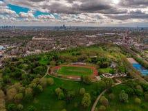 Parco di Finbury fotografie stock libere da diritti