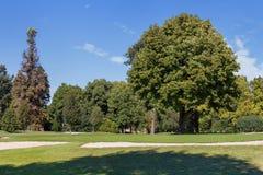 Parco di fine dell'estate Fotografie Stock