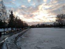 Parco di Gorkij Fotografia Stock Libera da Diritti