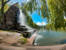 Parco di Gorkij, Almaty Fotografia Stock Libera da Diritti