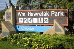 Parco di Hawrelak Immagini Stock