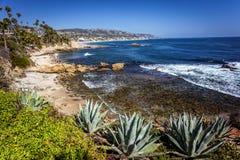 Parco di Hesler in Laguna Beach California Fotografie Stock