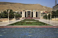 Parco di Heydar Aliev in Lokbatan vicino a Bacu l'azerbaijan Fotografia Stock
