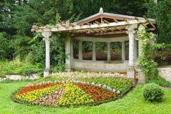 Parco di Hunegg del castello Hilterfingen Fotografie Stock