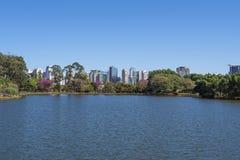 Parco di Ibirapuera a Sao Paulo, Brasile Fotografie Stock Libere da Diritti