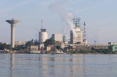 Parco di industria in Romania Immagine Stock