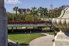 Parco di Jardin del Turia Immagini Stock Libere da Diritti