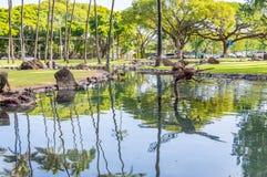 Parco di Kapiolani Immagine Stock