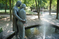 Parco di Korun-Shevchenkivskiy l'ucraina immagine stock libera da diritti