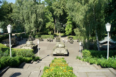 Parco di Korun-Shevchenkivskiy l'ucraina fotografia stock