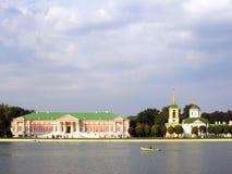 Parco di Kuskovo a Mosca Immagini Stock