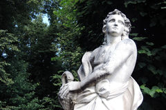 Parco di Kuskovo a Mosca immagini stock libere da diritti
