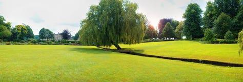 Parco di Leeds Castle, Maidstone, Inghilterra Fotografia Stock