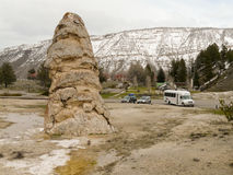Parco di Liberty Cap In Yellowstone National Fotografia Stock Libera da Diritti