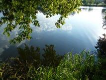 Parco di Loshitsa a Minsk, Bielorussia Fotografia Stock Libera da Diritti