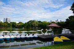 Parco di Lumpini Fotografie Stock Libere da Diritti