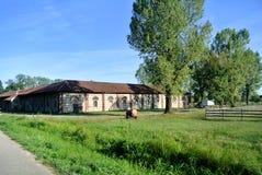 Parco di Mandria della casa di campagna Fotografia Stock