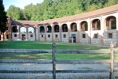 Parco di Mandria della casa di campagna Fotografie Stock